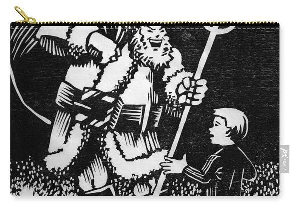 Satan Santa Carry-all Pouch