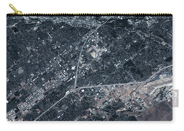 Satellite View Of Boise, Idaho, Usa Carry-all Pouch