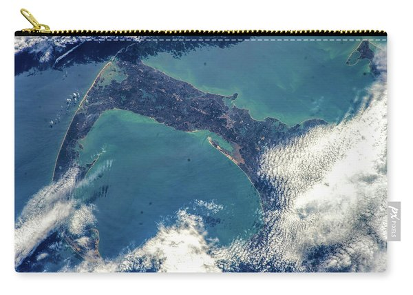 Satellite View Of Cape Cod National Carry-all Pouch