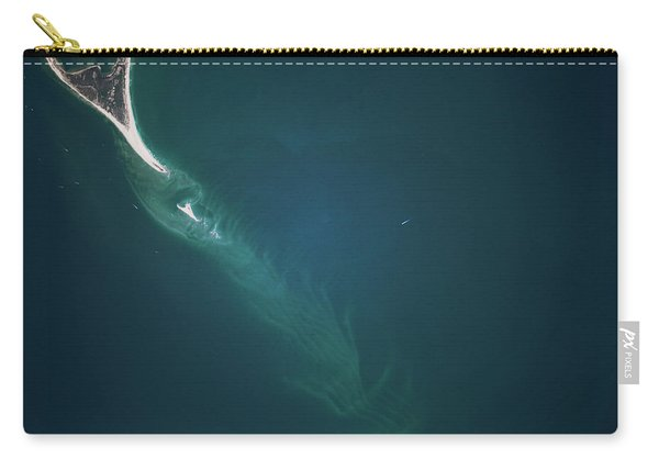 Satellite View Of Cape Lookout Area Carry-all Pouch