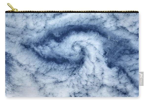 Satellite View Of Cloud Spiral Carry-all Pouch