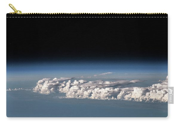 Satellite View Of Clouds Carry-all Pouch
