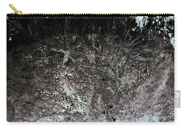 Satellite View Of Denver, Colorado, Usa Carry-all Pouch