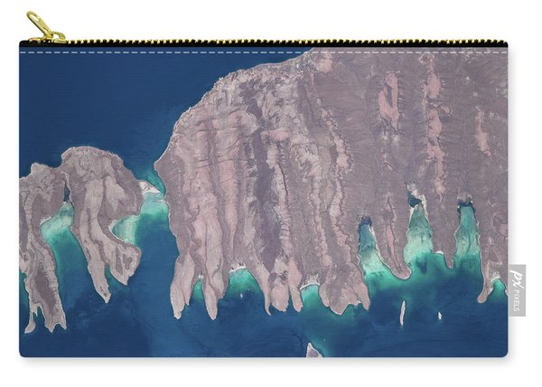Satellite View Of Isla Del Espiritu Carry-all Pouch