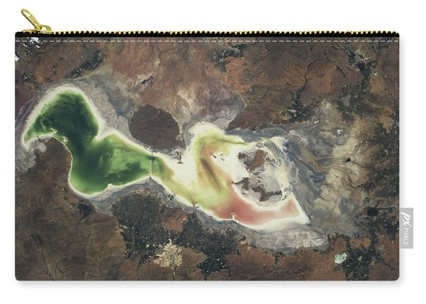 Satellite View Of Lake Urmia In East Carry-all Pouch