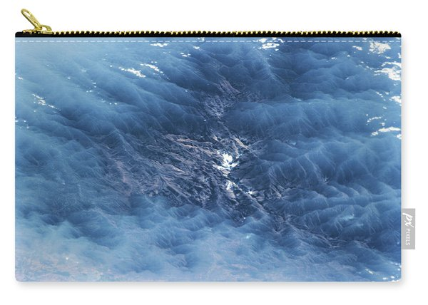 Satellite View Of Venezuelan Valley Carry-all Pouch