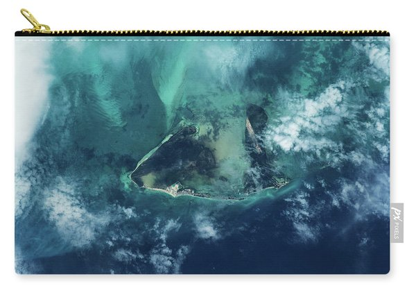 Satellite View Of West Grand Bahama Carry-all Pouch