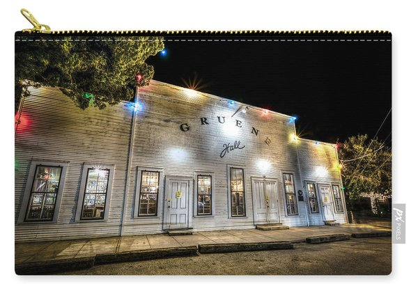Saturday Night At Gruene Hall Carry-all Pouch