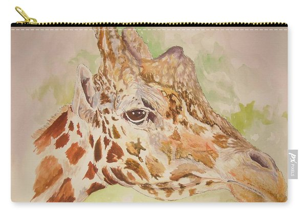 Savanna Giraffe Carry-all Pouch