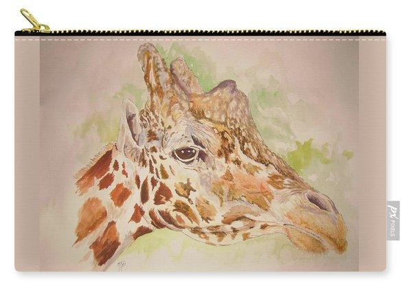 Savanna Giraffe Carry-all Pouch