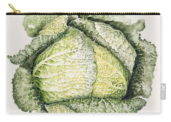 Savoy Cabbage  Carry-all Pouch