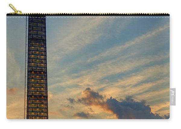 Scaffolding At Sunset Carry-all Pouch