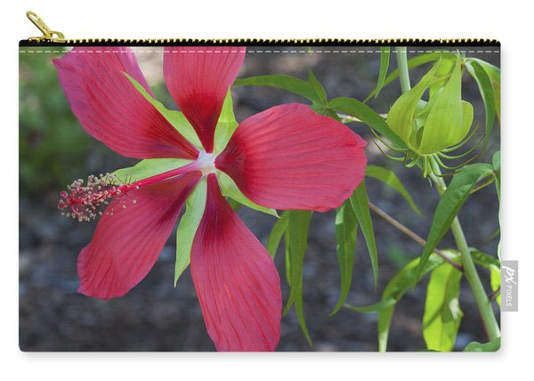 Scarlet Rosemallow -1 Carry-all Pouch