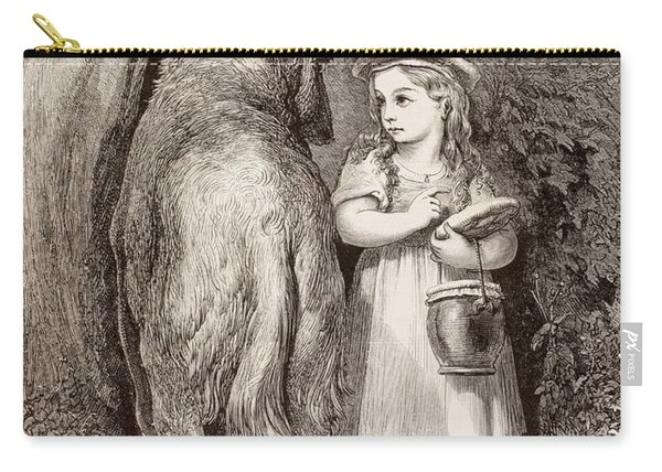 Scene From Little Red Riding Hood Carry-all Pouch