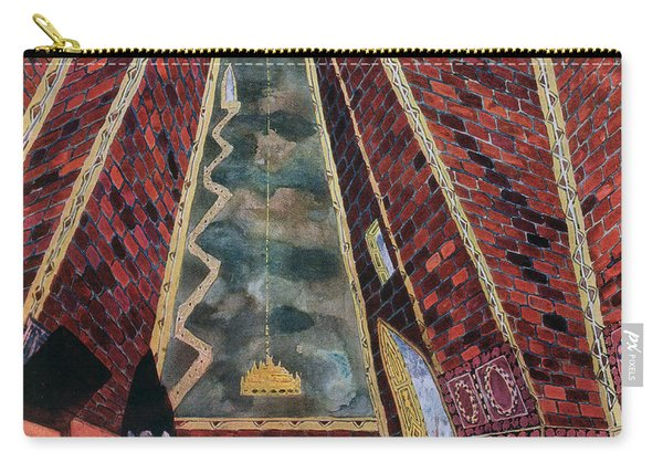 Scenery Design For Thamar, 1912 Carry-all Pouch