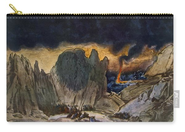 Scenery Design From Phedre, 1917 Carry-all Pouch