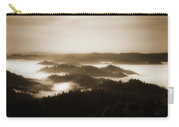 Scenery With Silhouettes Carry-all Pouch