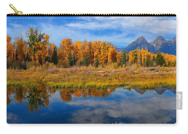 Schwabacher Autumn Reflections Panorama Carry-all Pouch