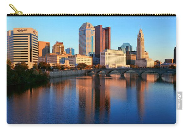 Scioto River And Columbus Ohio Skyline Carry-all Pouch