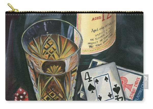 Scotch And Cigars 2 Carry-all Pouch