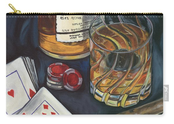 Scotch And Cigars 4 Carry-all Pouch