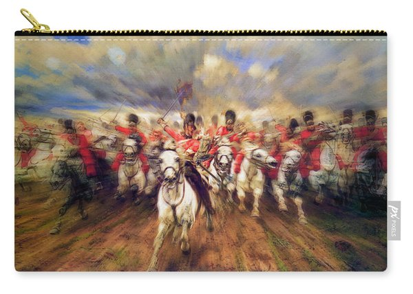 Scotland Forever During The Napoleonic Wars Carry-all Pouch