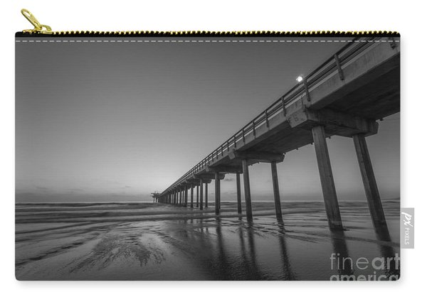 Scripps Pier Bw Carry-all Pouch