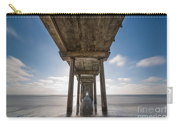 Scripps Pier Long Exposure Carry-all Pouch