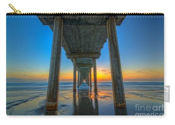 Scripps Pier Sunset Carry-all Pouch