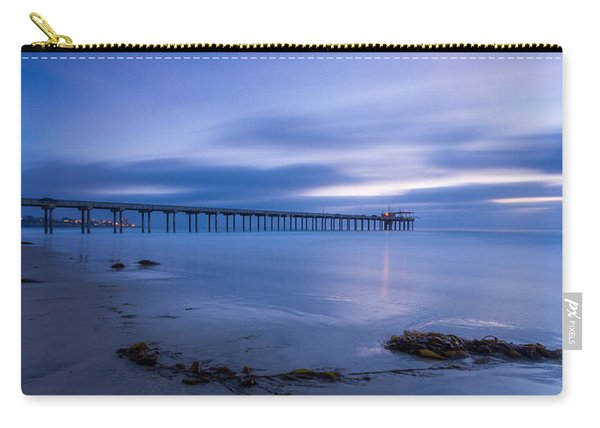 Scripps Pier Twilight - Color Carry-all Pouch