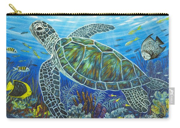 Sea Friends Carry-all Pouch