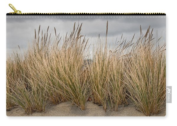 Sea Grass And Sand Carry-all Pouch