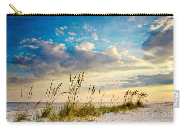 Sea Oats Sunset Carry-all Pouch