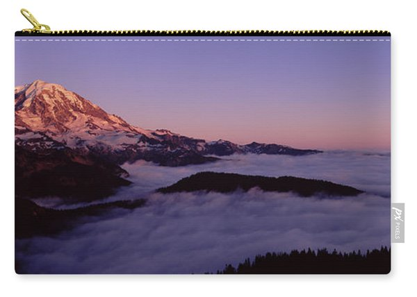 Sea Of Clouds With Mountains Carry-all Pouch