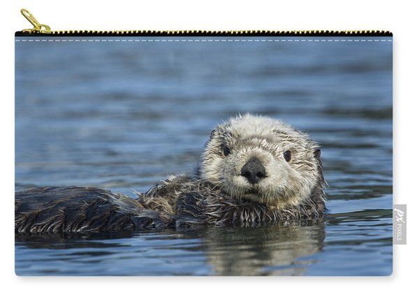 Sea Otter Alaska Carry-all Pouch