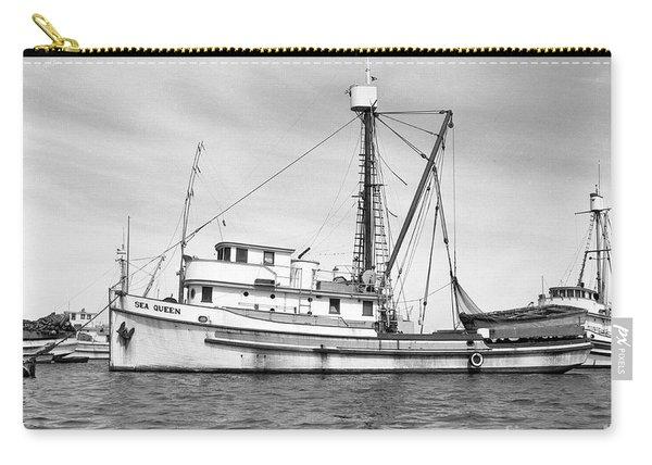 Purse Seiner Sea Queen Monterey Harbor California Fishing Boat Purse Seiner Carry-all Pouch
