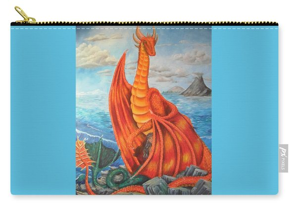 Sea Shore Pair Carry-all Pouch