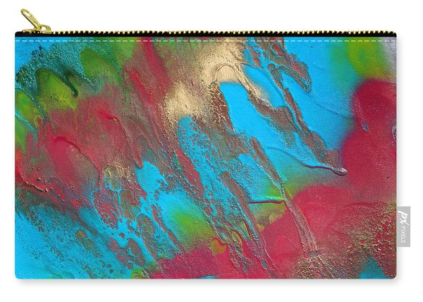 Seabreeze Abstract Painting Carry-all Pouch