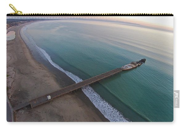 Seacliff State Beach From Above Carry-all Pouch