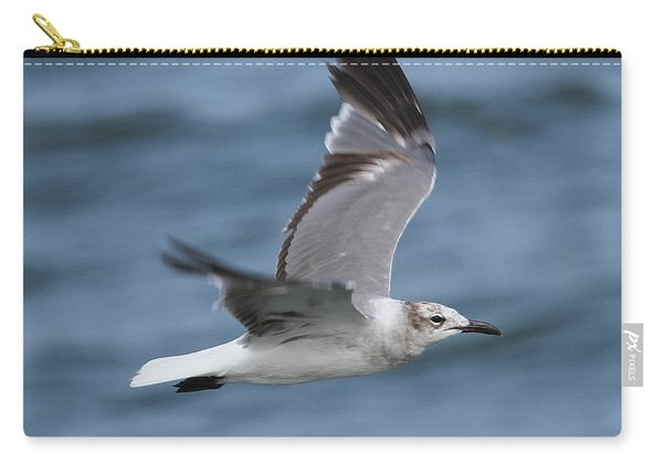 Seagull In Flight 11 Carry-all Pouch