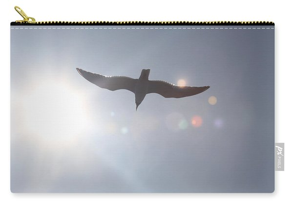 Seagull In Flight 8 Carry-all Pouch
