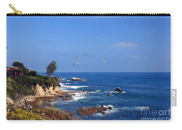 Seagulls At Laguna Beach Carry-all Pouch