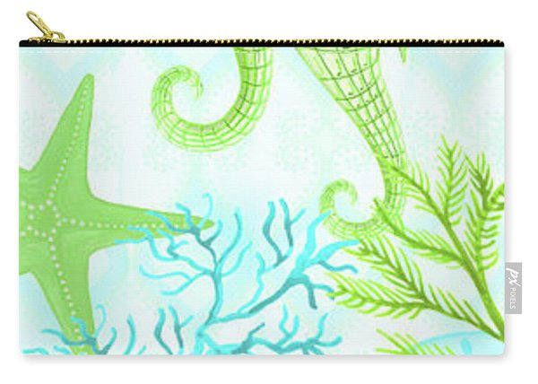 Seahorse Reef Panel II Carry-all Pouch