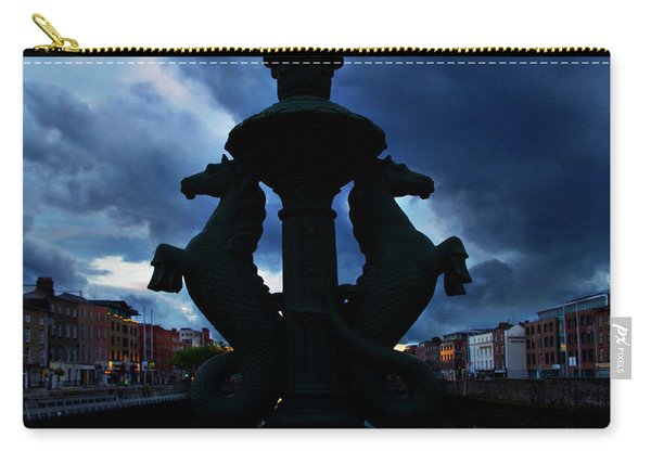 Seahorses At Dusk Carry-all Pouch