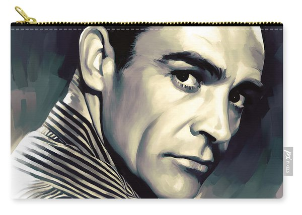 Sean Connery Artwork Carry-all Pouch