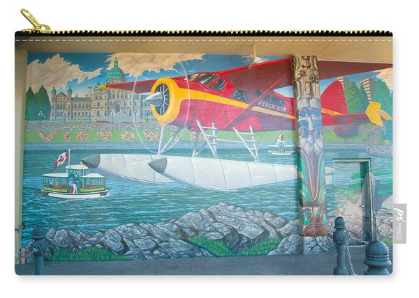 Seaplane Mural Carry-all Pouch
