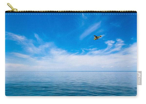 Seaplane Over Lake Superior   Carry-all Pouch