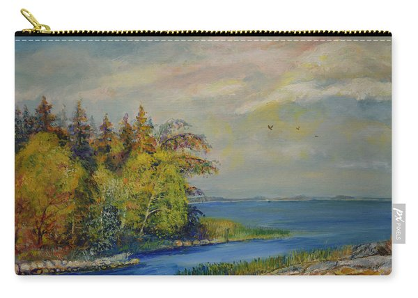 Seascape From Hamina 3 Carry-all Pouch