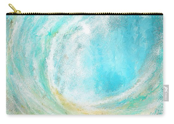 Seascapes Abstract Art - Mesmerized Carry-all Pouch