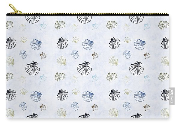 Seashell Pattern Carry-all Pouch